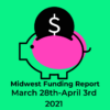 Fundings March 28th to April 3rd